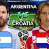 موعد مباراة الارجنتين وكرواتيا  الخميس 21-06-2018 كأس العالم 2018 والقنوات الناقلة
