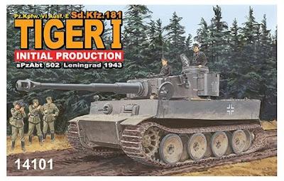 1/144 Tiger I Initial (14101)