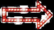 Seta luz vermelha