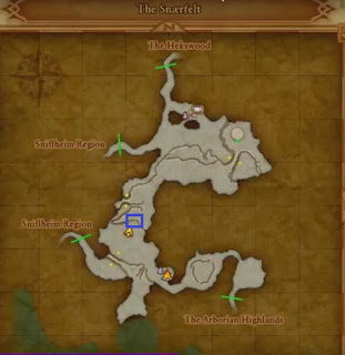 Weather Cow Location, Dragon Quest 11, Snaerfelt