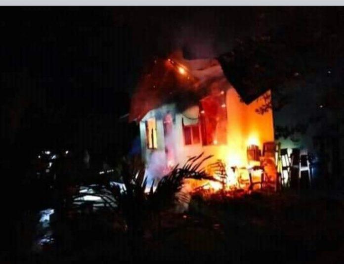 Sedih! Biara FMM Nagekeo Terbakar, Seorang Biarawati Tewas