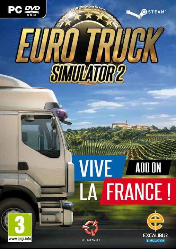 Euro Truck Simulator 2 Vive La France Download Cover Free Game