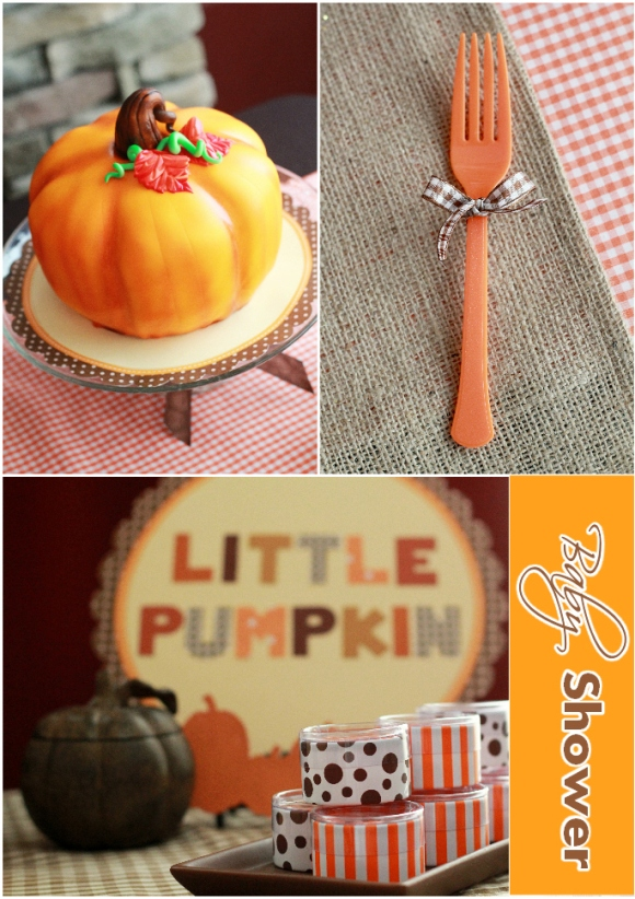 Little Pumpkin Baby Shower Party Ideas