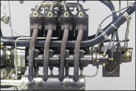 Gambar konsep mesin 2 Tak 4 Silinder serta penjelasanya