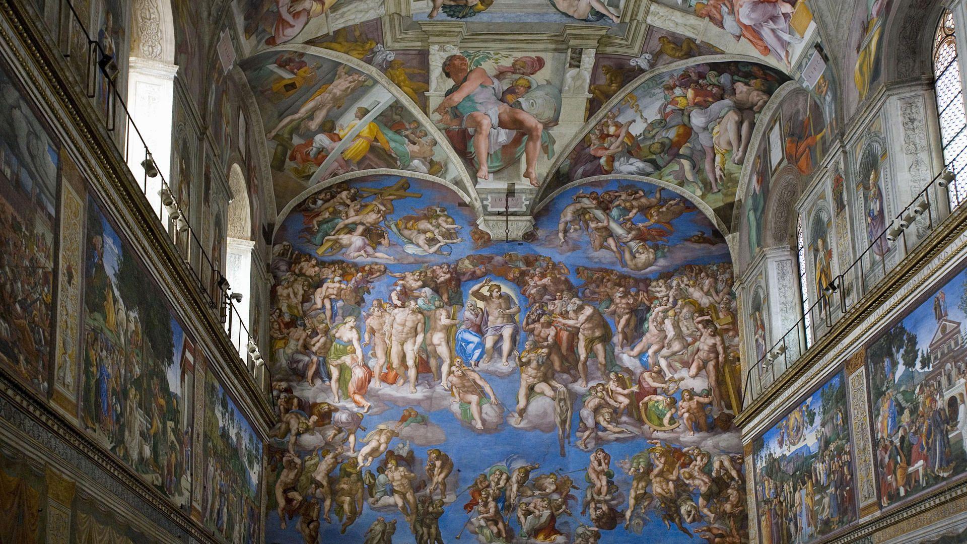 Музеи Ватикана и Сикстинская капелла в Риме