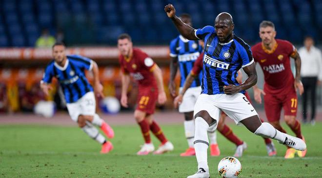 Video AS Roma - Inter: Đại tiệc 4 bàn, anh hùng hóa tội đồ