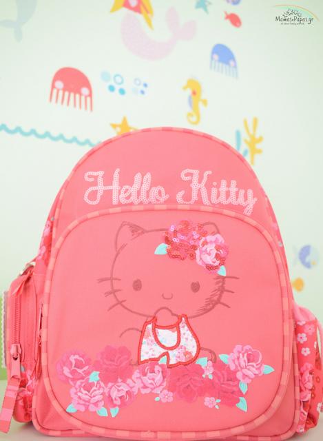 τσάντα νηπιαγωγείου hello kitty