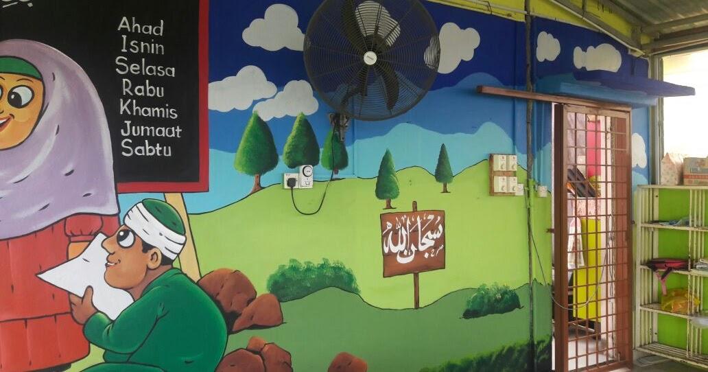 Pelukis mural shah alam for Mural tadika