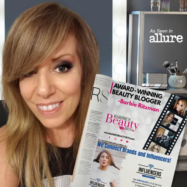 Award Winning Beauty Blogger Barbies Beauty Bits, Featured In Allure Magazine