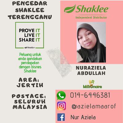 Pengedar Shaklee Jertih Terengganu