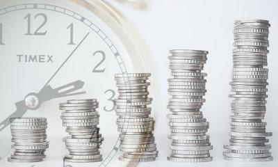 時間とお金の画像