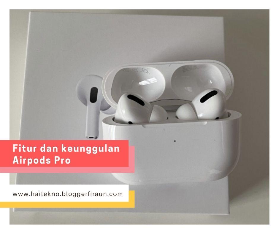 AirPods Pro resmi dijual di Indonesia