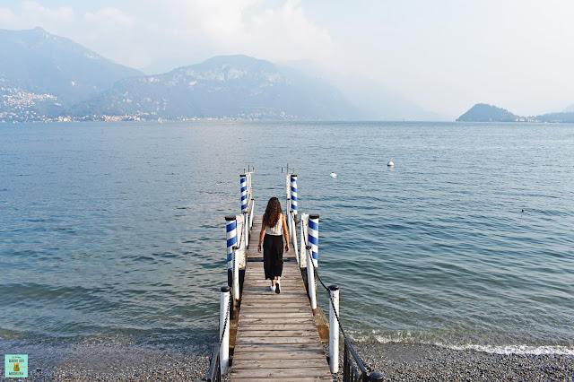 Menaggio en Lago di Como, Italia