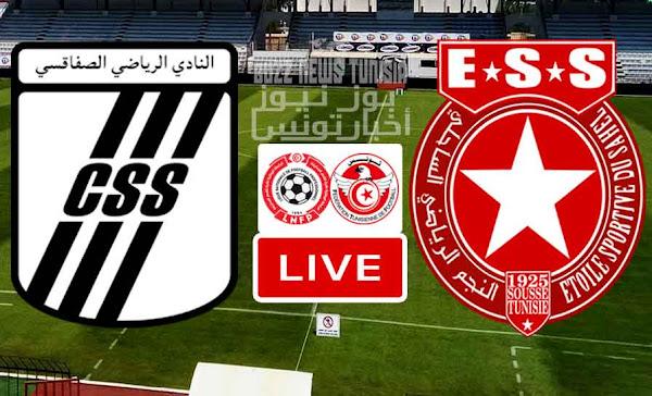 Match Club Sportif Sfaxien vs Etoile Sportive du Sahel Live Stream