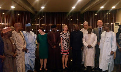 Police IG Dines With German Ambassador And Others In Abuja. Photos