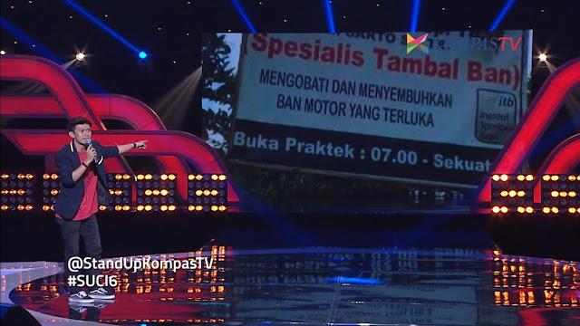 [VIDEO] Indra Jegel SUCI 6 Show 14: Ban Motor Yang Terluka