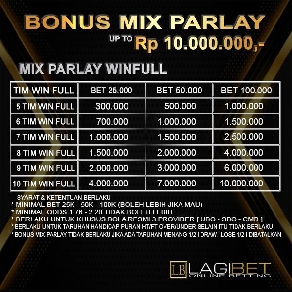 Bonus Mix Parlay