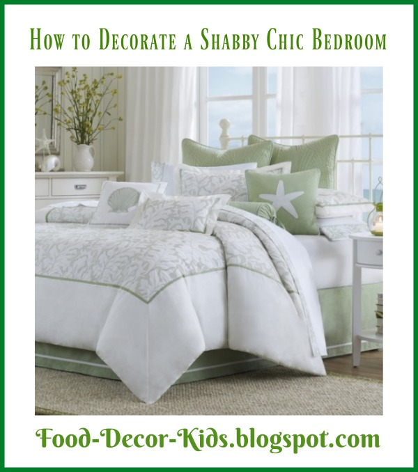 Bedroom Shabby Chic Wallpaper: Food, Decor, Kids: How To Decorate A Shabby Chic Bedroom