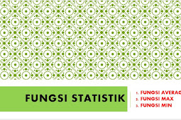 Cara Menggunakan Fungsi Statistik pada Microsoft Excel