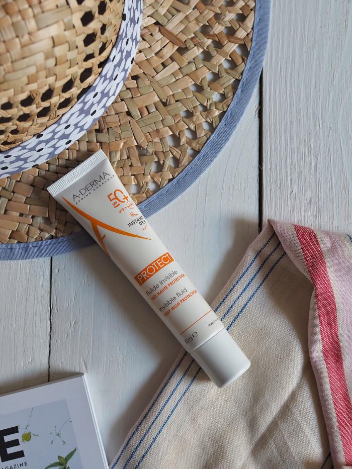Fluide invisible instant dry de la marque A-derma
