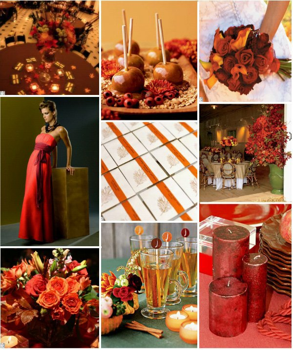 Wedding Themes And Colors: Power To Personalize Your Wedding: Fall Wedding Inspiration