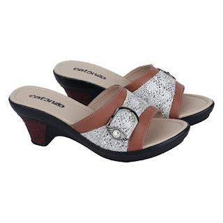 Sandal Wedges Wanita Catenzo TG 160