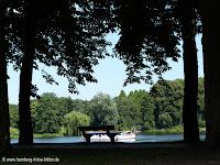 Picknick in Hamburg. Picknickplätze im Stadtpark