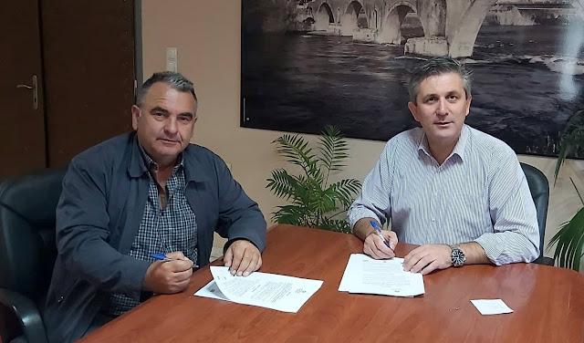 ΄Αρτα: Υπεγράφη η σύμβαση του έργου ασφαλτοστρώσεις δρόμων σε Γαβριά και Κωστακιούς Άρτας