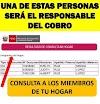 Consulta Quién En Tu HOGAR Cobrará El BONO De 600 SOLES