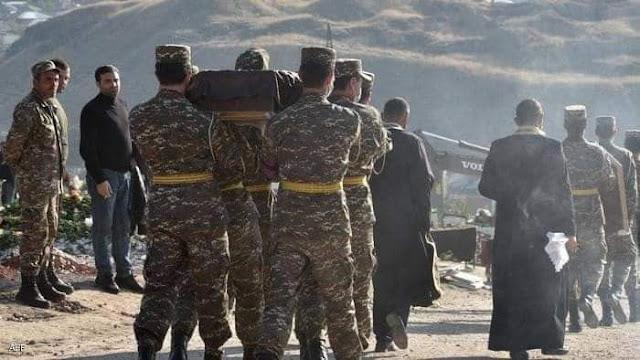 المعارك في إقليم ناغورني كاراباخ استمرت أسابيع عدة