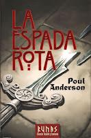 Portada de La espada rota de Poul Anderson