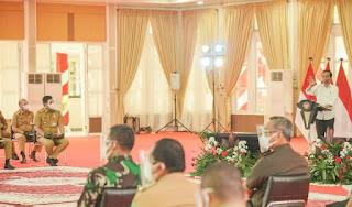 Berikan Arahan Kepada Kepala Daerah, Presiden Jokowi: Yang Dibutuhkan Saat Ini Adalah Kepemiminan Lapangan