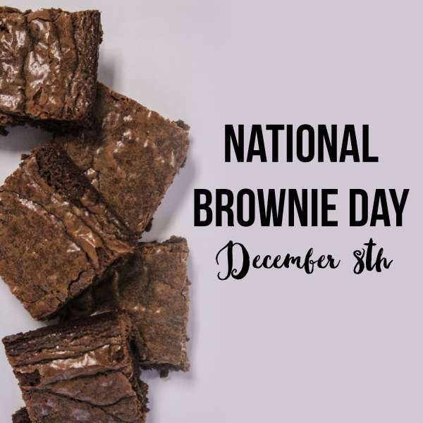 National Brownie Day Wishes Awesome Picture