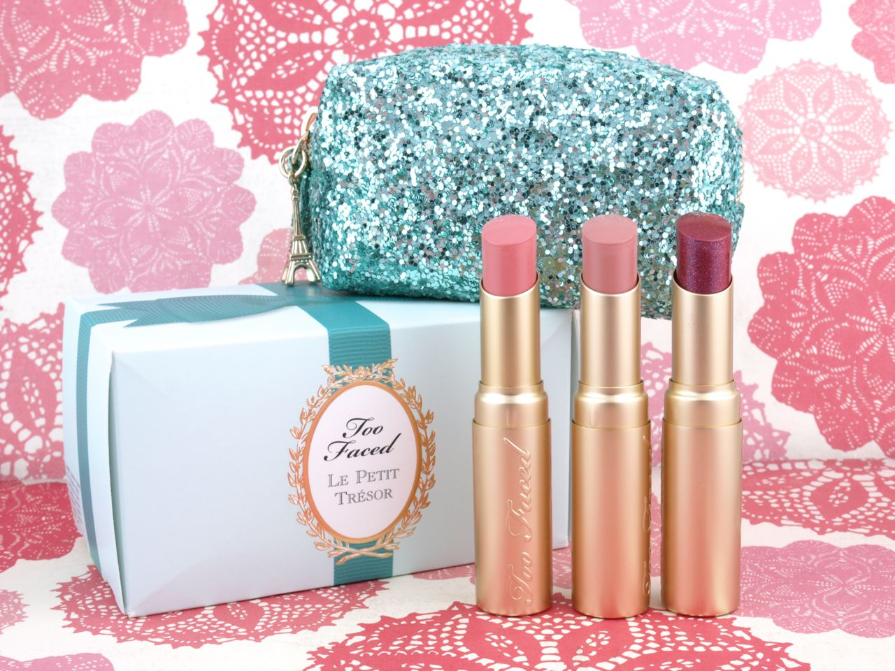 Too Faced Holiday 2015 Le Petit Tresor Set: Review and Swatches