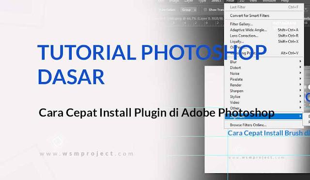 Install Plugin di Adobe Photoshop