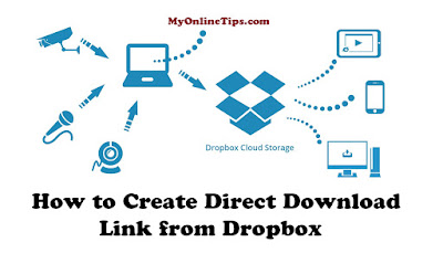 How to Create Direct Download Link from Dropbox
