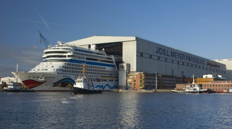 Iniziata la costruzione per la prima nave AIDA Cruises a LNG
