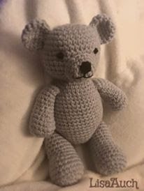 Free crochet teddy bear pattern EASY