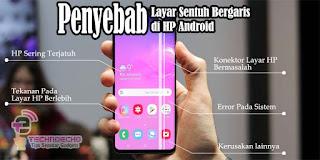 cara membersihkan goresan pada layar sentuh hp android