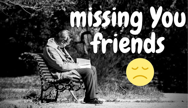 whatsapp dp for missing friends