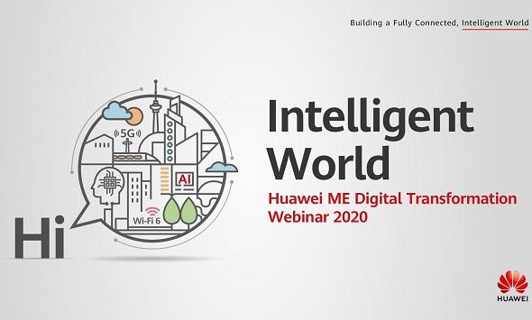 Huawei Middle East Digital Transformation Webinar 2020