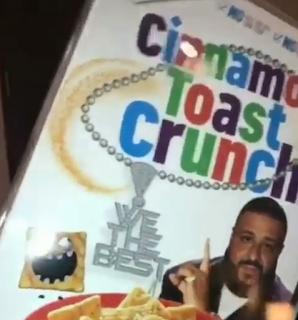 Cinnamon Toast Crunch DJ Khaled