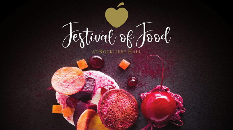 FESTIVAL OF FOOD RETURNS TO ROCKLIFFE HALL
