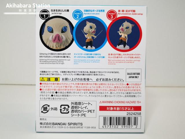 Review del Figuarts mini Inosuke de Kimetsu no Yaiba - Tamashii Nations