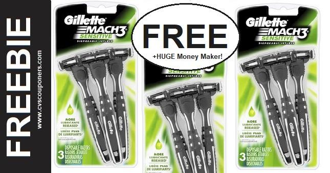 FREE Gillette Disposable Razor Deals at CVS
