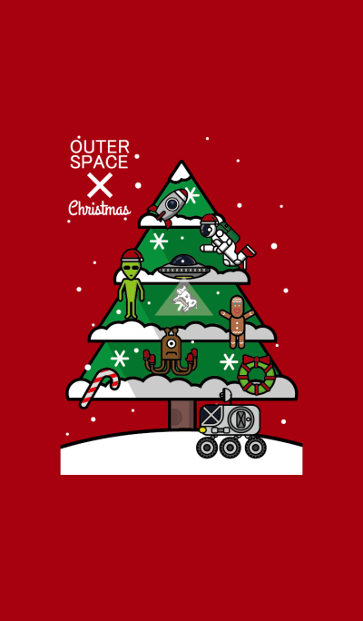 OUTER SPACE X CHRISTMAS
