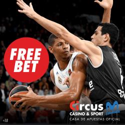 circus promocion 25 euros Euroliga 18-19 enero