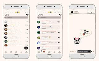 Mickey & Minnie Theme For YOWhatsApp & Fouad WhatsApp By Leidiane