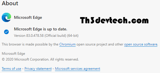 متصفح Microsoft Edge الجديد