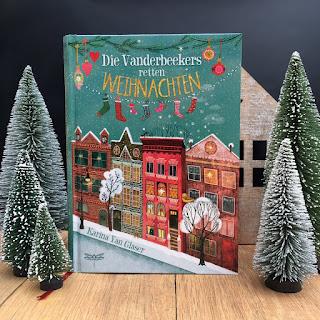 """""""Die Vanderbeekers retten Weihnachten"""" von Karina Yan Glaser, Dragonfly Verlag, Kinderbuch, Rezension auf Kinderbuchblog Familienbücherei"""
